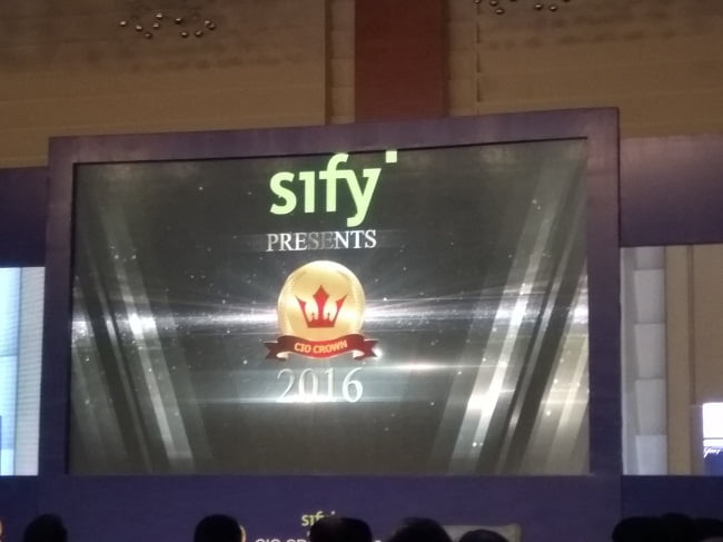 CIO Crown 2016 Event By Sify Technologies in Mumbai Overview (27)