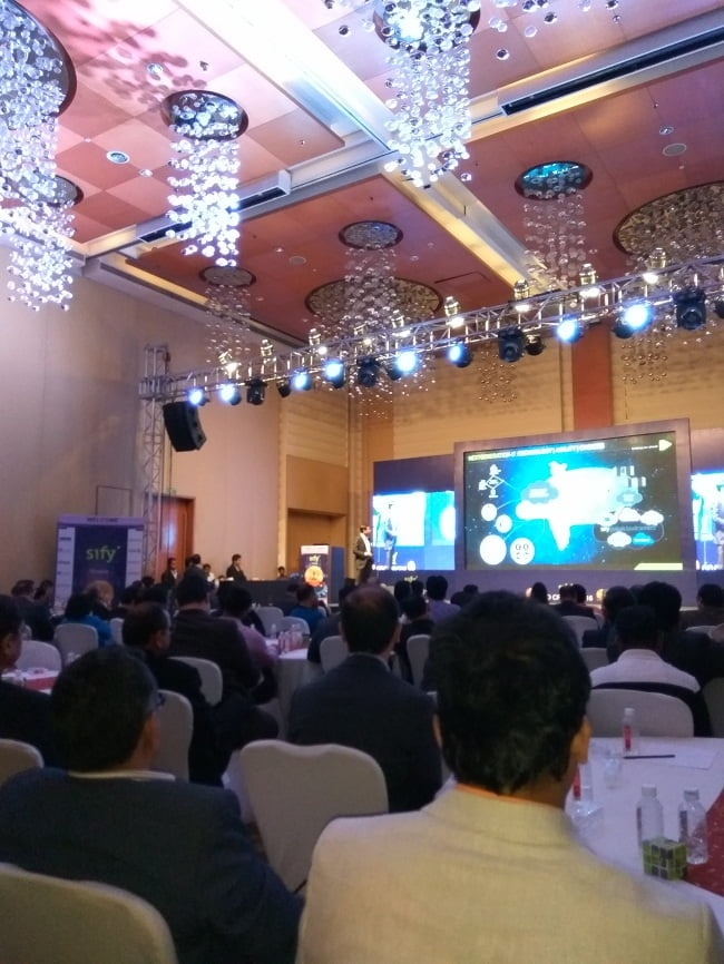CIO Crown 2016 Event By Sify Technologies in Mumbai Overview (30)