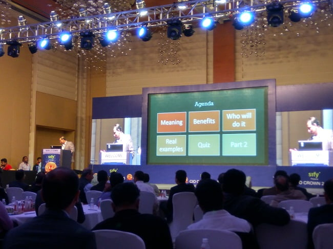 CIO Crown 2016 Event By Sify Technologies in Mumbai Overview (32)