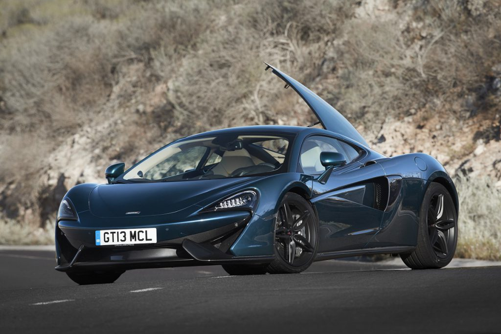 best sports cars McLaren 570GT wall papers