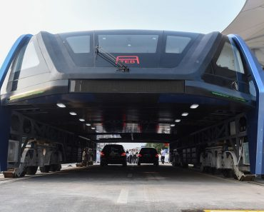 transit elevated bus,