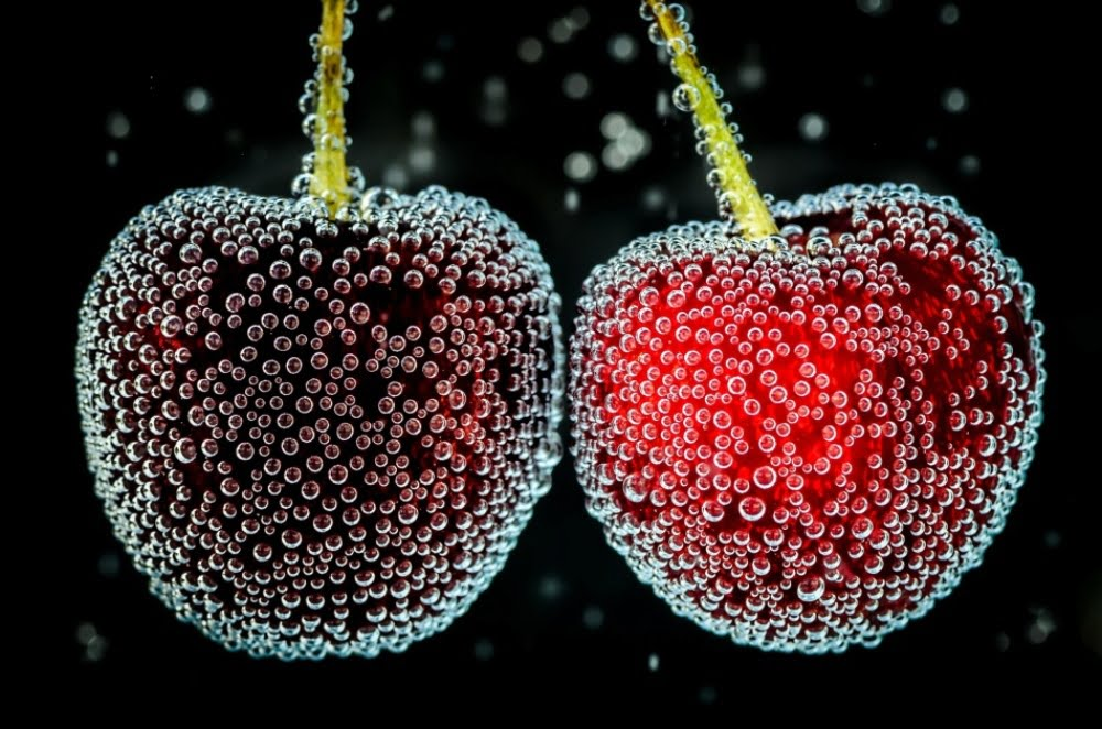 cherries-under-the-water