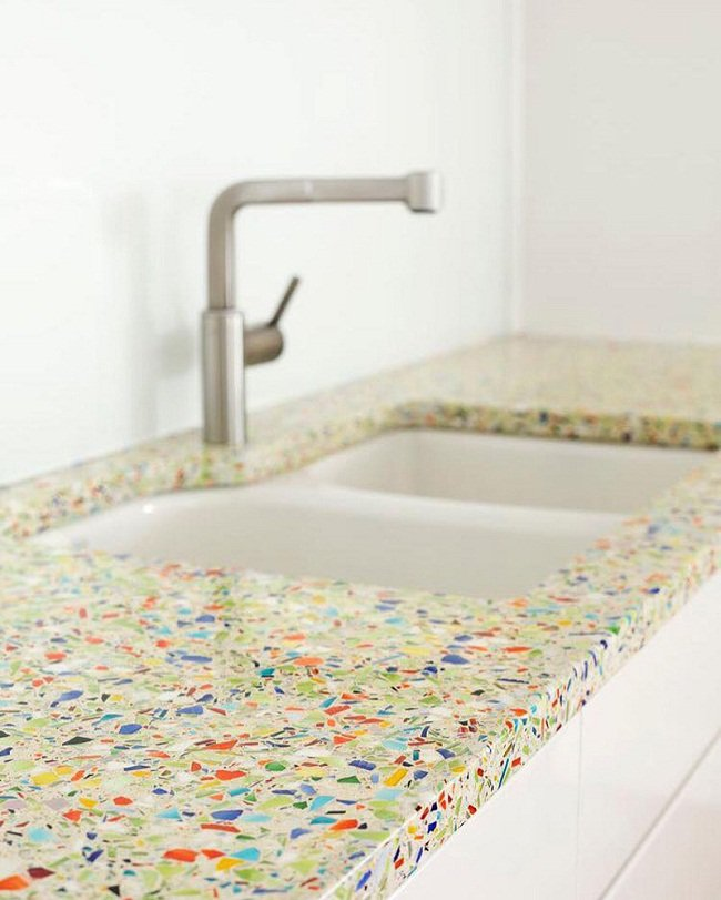 recycled-glass-countertops-for-kitchen-vetrazzo