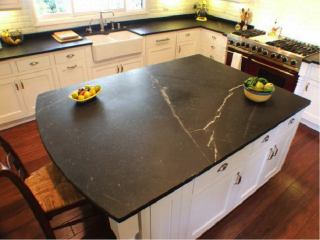 soapstone-countertops-of-kitchen