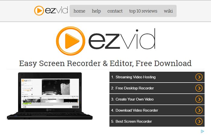 ezvid, Screen Recorder,