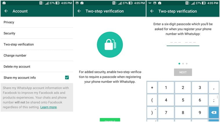 verify whatsapp beta on android,