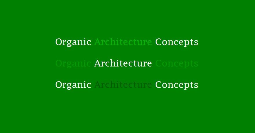 Most Famous Organic Architecture Concepts In Design