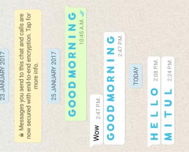 Blue Color Text,