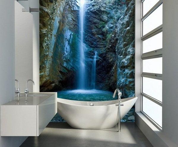 Simple Bathroom Wall Decor Ideas