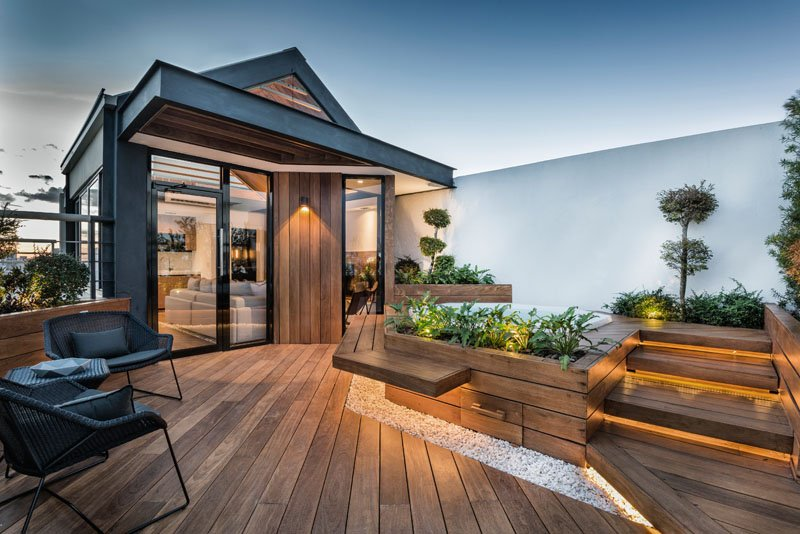 Modern Rooftop Design Ideas & Pictures of Deck, Bar, Pool & More