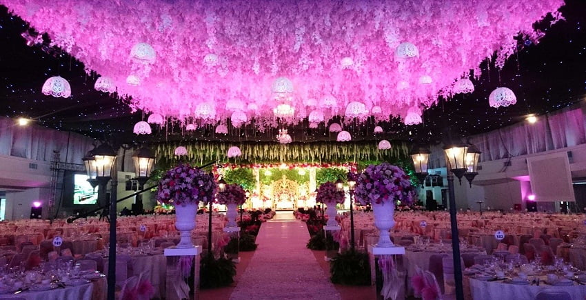 Wedding reception theme ideas,