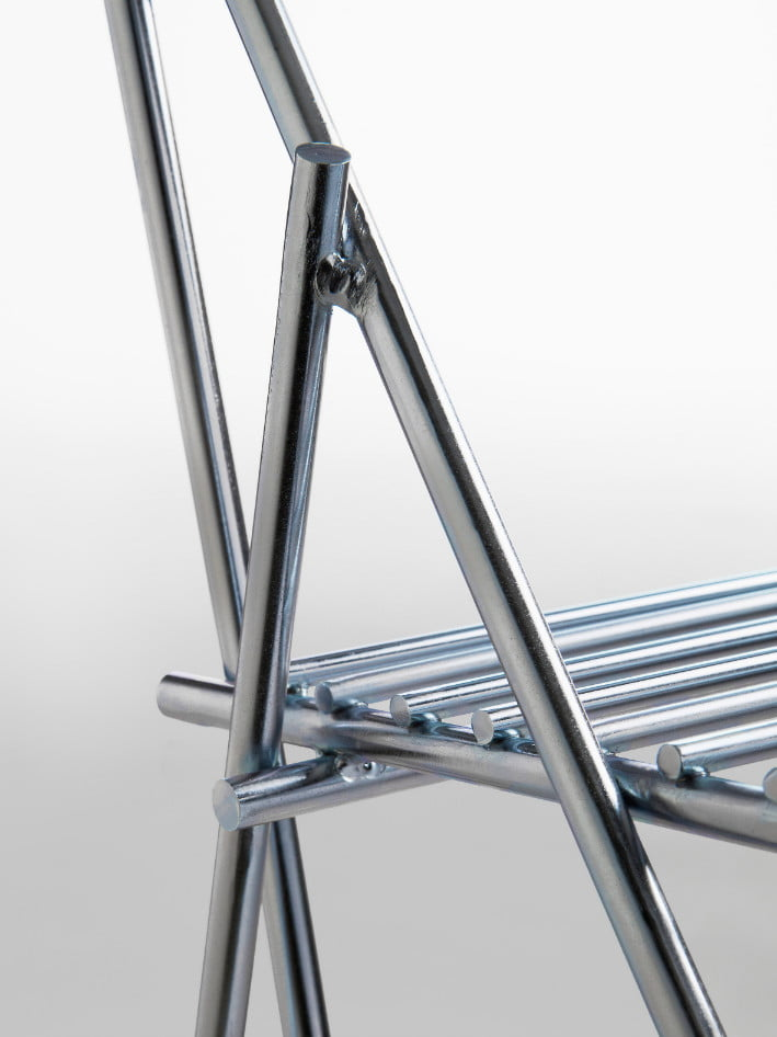 steel chair folding,