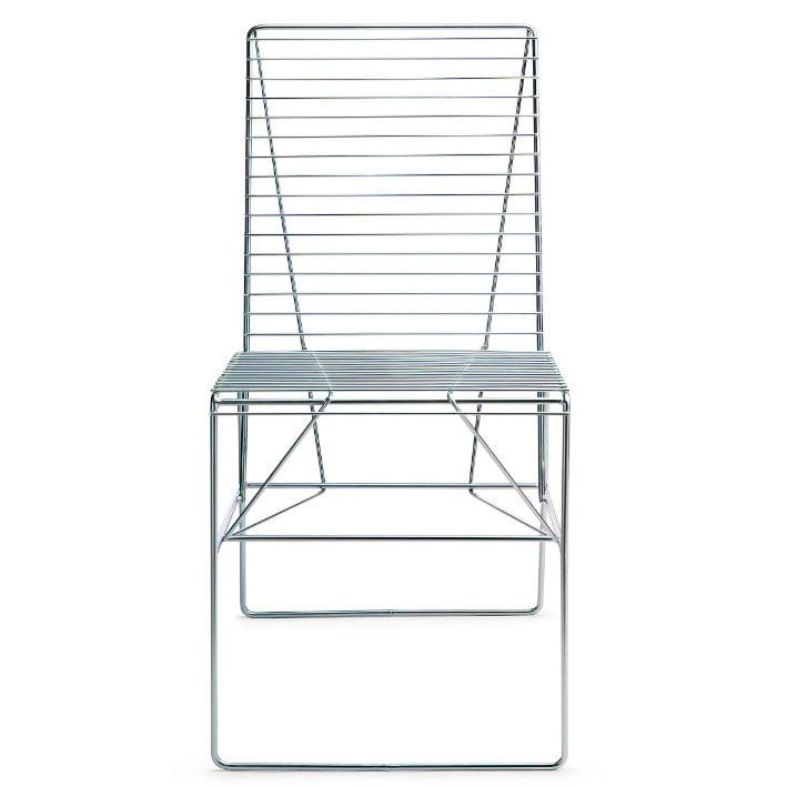 steel deck chair,