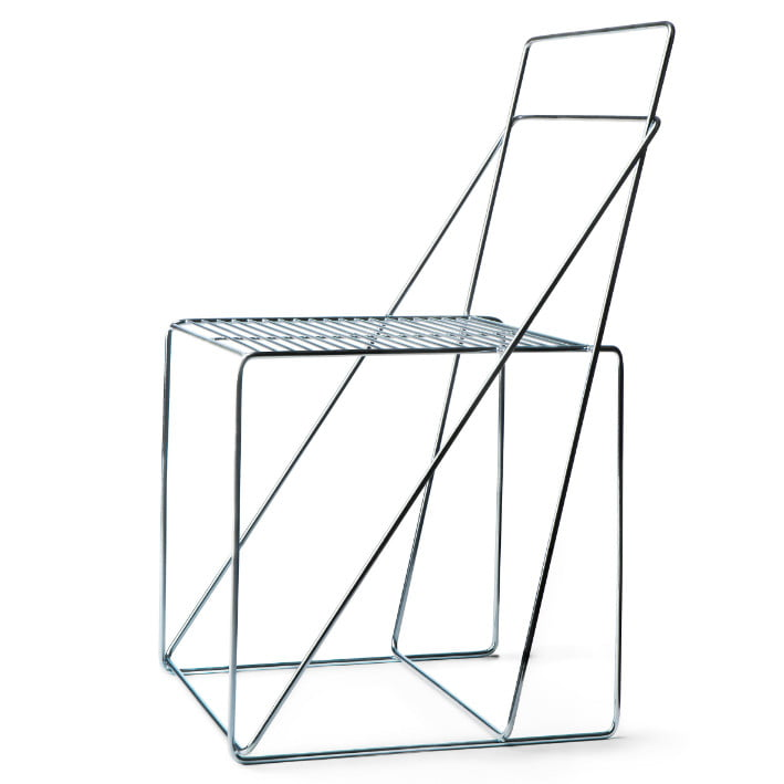 steel easy chair,