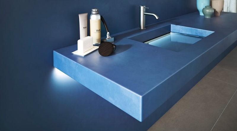 resin finish bath sink,