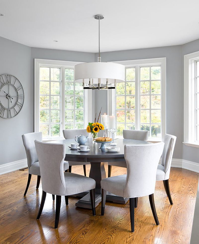 Dining Room Wall Ideas: Best Gray Dining Room Paint Colors
