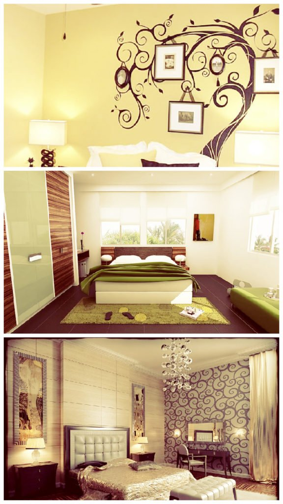 101 Best Bedroom wall art decor ideas with canvas painting, metal ...