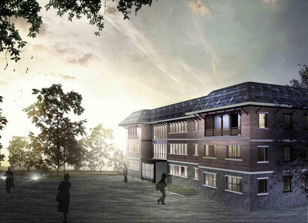 Modern Vernacular Architecture Of New Annex Building Of Icimod In Nepal