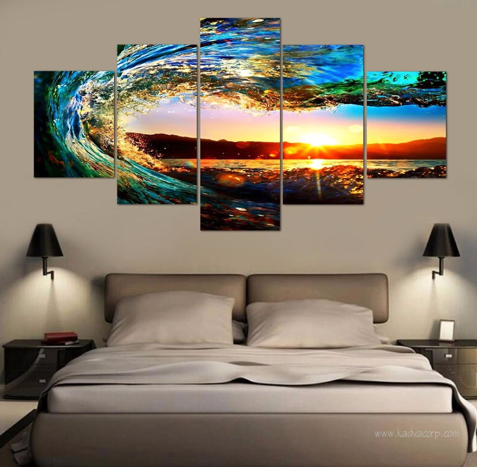 Fancy canvas wall art oversized canvas art large wall art for living room