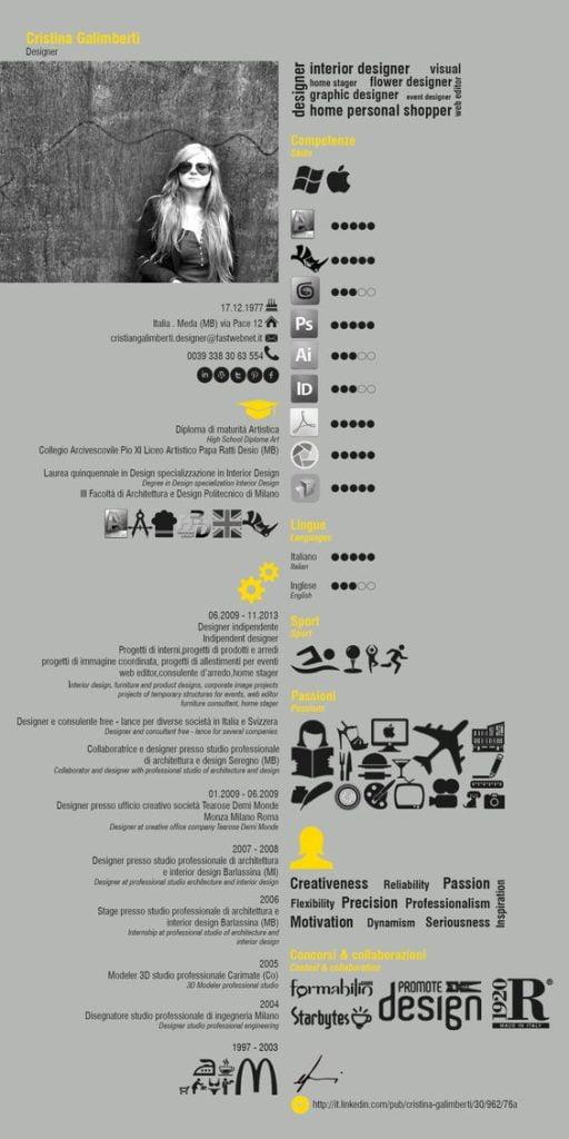 100  unique examples of architecture resume design